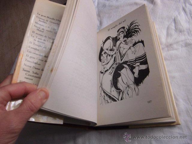 Libros de segunda mano: 15 MARAVILLAS DEL MUNDO .GAUTIER LANGUEREAU.PUBLICACIONES FHER. 1975 - Foto 4 - 49165218