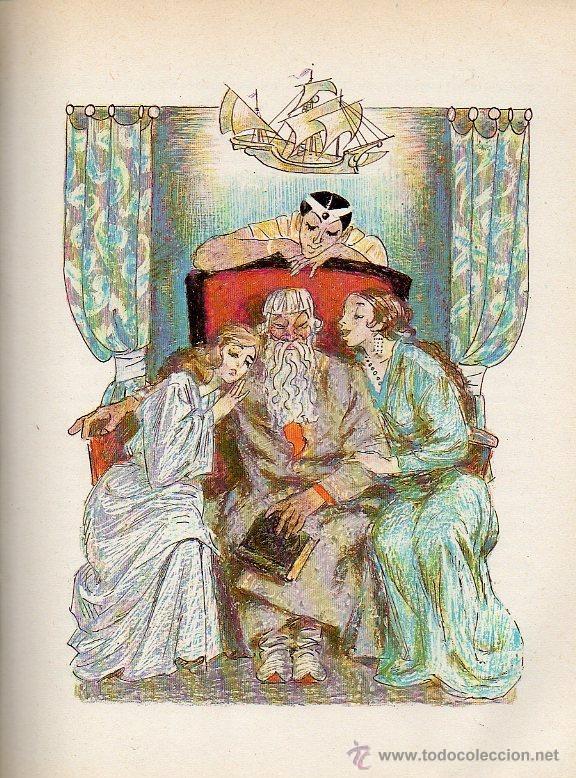 Libros de segunda mano: ARQUETA DE CUENTOS - ESCRITORES RUSOS DEL SIGLO XIX. DIBUJOS O.KOROVIN. ED.RÁDUGA, 1983 - Foto 4 - 49045488