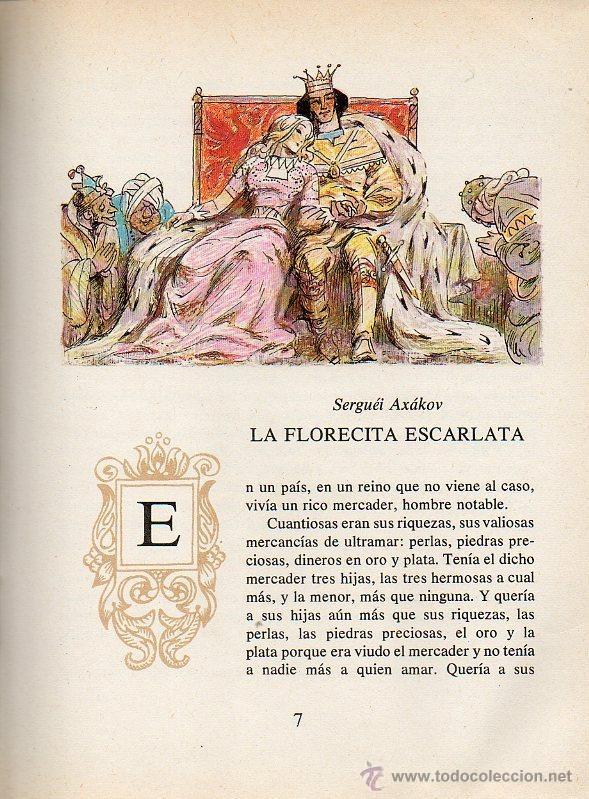 Libros de segunda mano: ARQUETA DE CUENTOS - ESCRITORES RUSOS DEL SIGLO XIX. DIBUJOS O.KOROVIN. ED.RÁDUGA, 1983 - Foto 5 - 49045488
