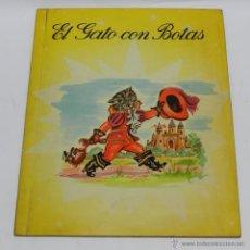 Libros de segunda mano: EL GATO CON BOTAS - CUENTO CON MOVIMIENTO - COL. MAGICA - REUNIDAS 1956 - CUENTO RARO, EN LAS FOTOS . Lote 49066837