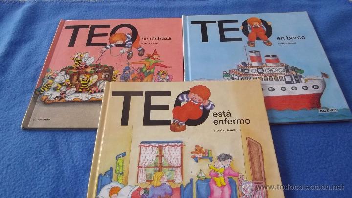 PACK 3 CUENTOS TEO (COLECCIÓN EL PAÍS) (Libros de Segunda Mano - Literatura Infantil y Juvenil - Cuentos)