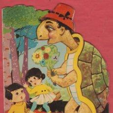 Libros de segunda mano: LA TORTUGA CARIÑOSA-CUENTOS INFANTILES TROQUELADOS-EDICIONES TORAY-8 PAGS-1961-BARCELONA-LJ359. Lote 49392578