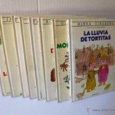 Libros de segunda mano: COLECCIÓN EL COLUMPIO 1 AL 8 COMPLETA, BRUGUERA 1982. Lote 49468358