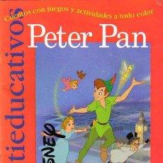 Libros de segunda mano: PETER PAN DISNEY CUENTOS MULTIEDUCATIVOS CON JUEGOS Y ACTIVIDADES A TODO COLOR, EDICIONES GAVIOTA. Lote 49483903