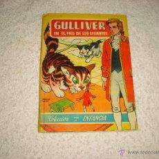Libros de segunda mano: GULLIVER EN EL PAIS DE LOS GIGANTES . COLECCION PARA LA INFANCIA.ED BRUGUERA. Lote 49493064