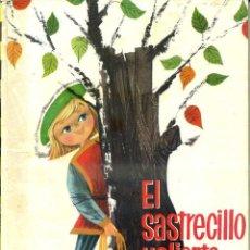 Libros de segunda mano: GRIMM : EL SASTRECILLO VALIENTE (MOLINO ILUSIÓN INFANTIL Nº 1, 1960) ILUSTRACIONES DE J. CORREAS. Lote 49589508