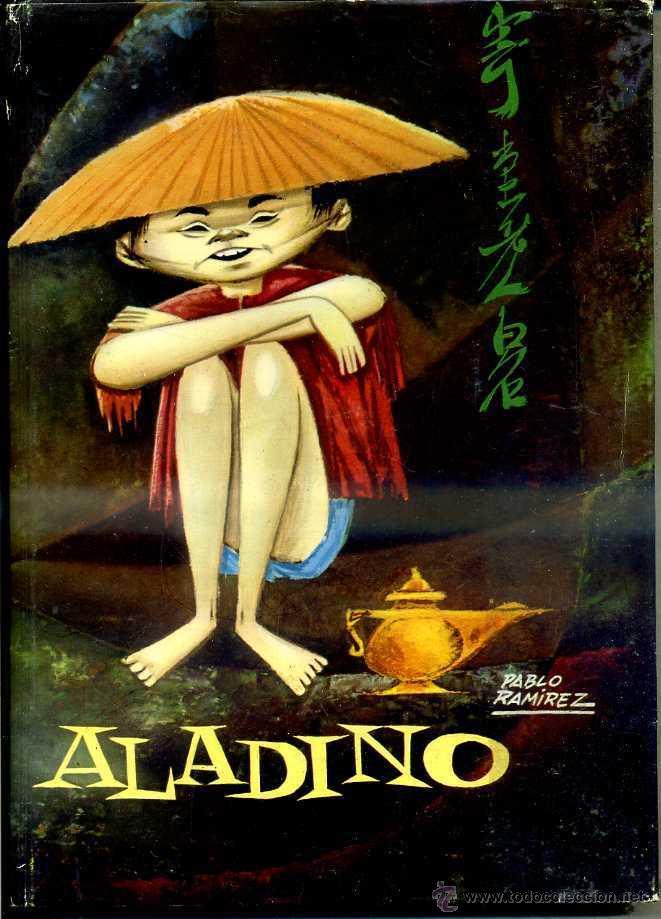 ALADINO (MOLINO MIS PRIMEROS CUENTOS 1958) ILUSTRACIONES DE PABLO RAMÍREZ (Libros de Segunda Mano - Literatura Infantil y Juvenil - Cuentos)