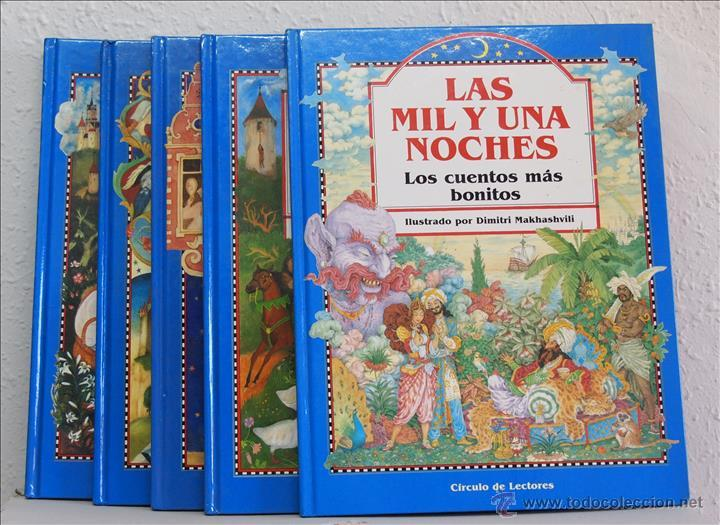LOS CUENTOS MÁS BONITOS. 5 TOMOS. CÍRCULO DE LECTORES, BARCELONA, 1991. GRIMM, ANDERSEN, PERRAULT, L (Libros de Segunda Mano - Literatura Infantil y Juvenil - Cuentos)