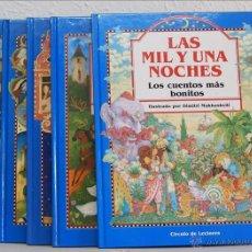 Libros de segunda mano: LOS CUENTOS MÁS BONITOS. 5 TOMOS. CÍRCULO DE LECTORES, BARCELONA, 1991. GRIMM, ANDERSEN, PERRAULT, L. Lote 49601657