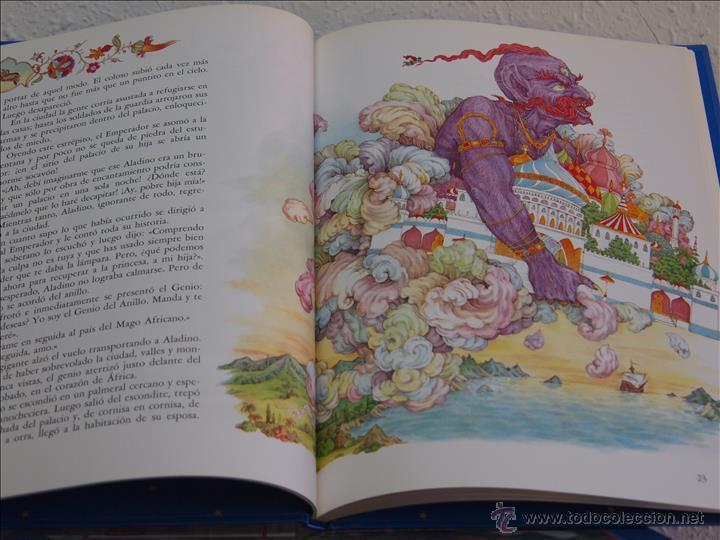 Libros de segunda mano: Los cuentos más bonitos. 5 tomos. Círculo de lectores, Barcelona, 1991. Grimm, Andersen, Perrault, L - Foto 3 - 49601657
