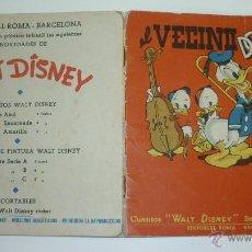 Libros de segunda mano: EL VECINO DONALD. CUENTO DISNEY. EDITORIAL ROMA. BARCELONA. AÑOS 1950S. Lote 49684144