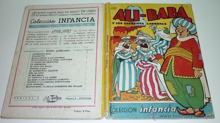 ALI-BABA Y LOS CUARENTA LADRONES. COLECCIÓN INFANCIA. EDITORIAL BRUGUERA. ILUT: SALVADOR MESTRES (Libros de Segunda Mano - Literatura Infantil y Juvenil - Cuentos)
