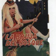 Libros de segunda mano: LA BRUJA DEL BOSQUE. CUENTO TROQUELADO. EDITORIAL VILMAR.. Lote 49726490