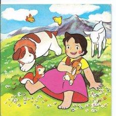 Libros de segunda mano: CUENTOS HEIDI EL EDELWEISS. Lote 49897093