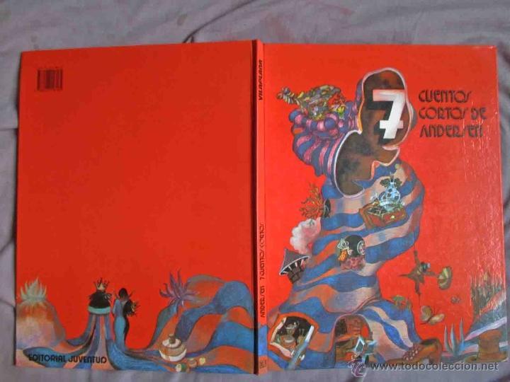 Libros de segunda mano: 7 cuentos cortos de Andersen . Editorial: juventud 1989. Muy bien ilustrado. - Foto 2 - 49969796