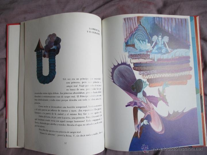 Libros de segunda mano: 7 cuentos cortos de Andersen . Editorial: juventud 1989. Muy bien ilustrado. - Foto 4 - 49969796