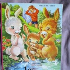 Libros de segunda mano: LOS TRES CONEJITOS. EDITORIAL: BETIS 1970. Lote 49980179
