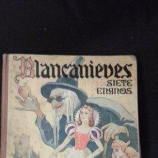 Libros de segunda mano: BLANCANIEVES Y LOS SIETE ENANOS-EDT. RAMÓN SOPENA-1942. Lote 49982104