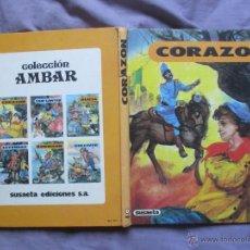 Libros de segunda mano: CORAZÓN - ILUSTRACIONES DE FERNANDO SAEZ - COL. AMBAR - SUSAETA, 1981. Lote 49985238