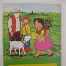 Libros de segunda mano: CUENTOS HEIDI - Nº 12 - EL CAMINO PELIGROSO - EDITORIAL BRUGUERA - AÑO 1975.. Lote 50091681