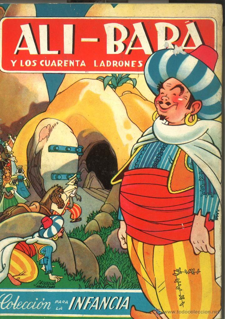 ALI BABA Y LOS CUARENTA LADRONES (Libros de Segunda Mano - Literatura Infantil y Juvenil - Cuentos)