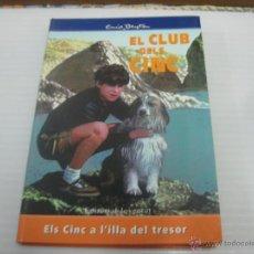 Libros de segunda mano: EL CLUB DELS CINC. Lote 50357599