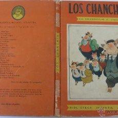 Libros de segunda mano: LOS CHANCHIN. BIBLIOTECA INFANTIL ATLÁNTIDA. BUENOS AIRES. AÑO 1945. Lote 50413917
