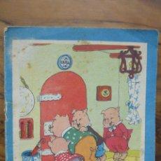 Libros de segunda mano: EL LOBO BUENO Y LOS CUATRO CERDITOS. COLECCIÓN CAMPANILLAS. Nº 16. (C.1960) ILUSTR. JUAN FERRANDIZ.. Lote 50452028