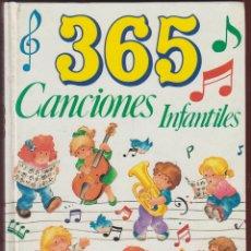 Libros de segunda mano: 365 CANCIONES INFANTILES-IMP. GRAFALCO S.A.-126 PAGINAS-AÑO 1991-MADRID-LJ409. Lote 50508261