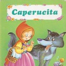 Libros de segunda mano: CAPERUCITA - COLECCIÓN TUS CUENTOS DE CARTÓN - SUSAETA 1986. Lote 50619486