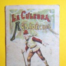 Libros de segunda mano: LA CULEBRA AGRADECIDA - SATURNINO CALLEJA - . Lote 50724821