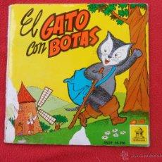 Libros de segunda mano: EL GATO CON BOTAS. CUENTO-SINGLE.. Lote 50774960