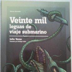 Libros de segunda mano: ADAPTACIÓN - VEINTE MIL LEGUAS DE VIAJE SUBMARINO - JULIO VERNE - PERIÓDICO - PÚBLICO. Lote 50789626