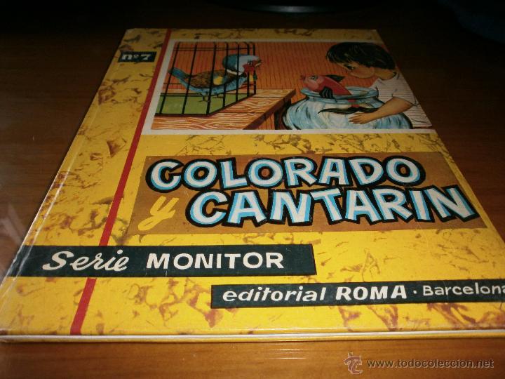 Libros de segunda mano: 3 LIBROS DE CUENTOS SERIE MONITOR - Nº 3,7, 8 - ED. ROMA, 1ª Edición, Barcelona, 1962. - Foto 2 - 50823689