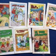 Libros de segunda mano: LOTE 7 CUENTOS TESORO CUENTOS BRUGUERA SERIE 2 Nº 1 2 3 4 6 7 8 CASA VILARDELL AÑOS 50. Lote 50825643