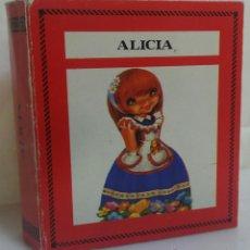 Libros de segunda mano: ALICIA - COLECCIÓN BIBLIOTECA SALDAÑA - CUENTO CLÁSICO INFANTIL - AÑO 1985. Lote 50904471