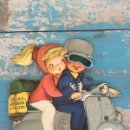 Libros de segunda mano: ANTIGUO CUENTO TROQUELADO DE FERRANDIZ - OLGA Y JORGE EN VESPA - CON SU JUGUETE - ORIGINAL - 1957 - . Lote 51046853