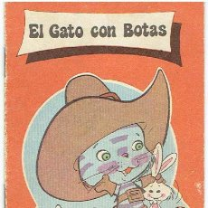 Libros de segunda mano: CUENTO EL GATO CON BOTAS. Lote 51135074