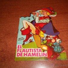 Libros de segunda mano: CUENTO TROQUELADO AÑO 1966: EL FLAUTISTA DE HAMELIN (DIBUJOS MARÍA PASCUAL) MINICLÁSICOS TORAY. Lote 51166371