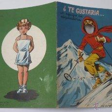 Libros de segunda mano: ¿TE GUSTARIA.....? CUENTO PARA JUGAR. EDICIONES BETIS. AÑO 1957. Lote 51317753