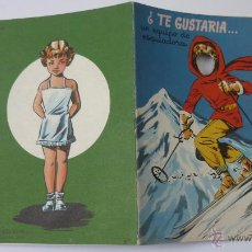 Libros de segunda mano: ¿TE GUSTARIA.....? CUENTO PARA JUGAR. EDICIONES BETIS. AÑO 1957. Lote 51317766