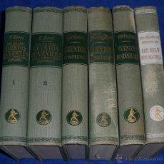 Libros de segunda mano: LOS MEJORES CUENTOS JUVENILES - GRIMM - ANDERSEN - EDITIORIAL LABOR (1965). Lote 51324158