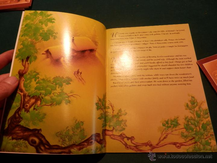 Libros de segunda mano: HANSEL I GRETEL - HANSEL AND GRETEL (CONTES I LLEGENDES) 2 LIBROS EN CATALÀ Y INGLÉS - Foto 2 - 51396305