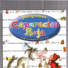 Libros de segunda mano: CAPERUCITA ROJA PICTOGRAMAS. Lote 51418850