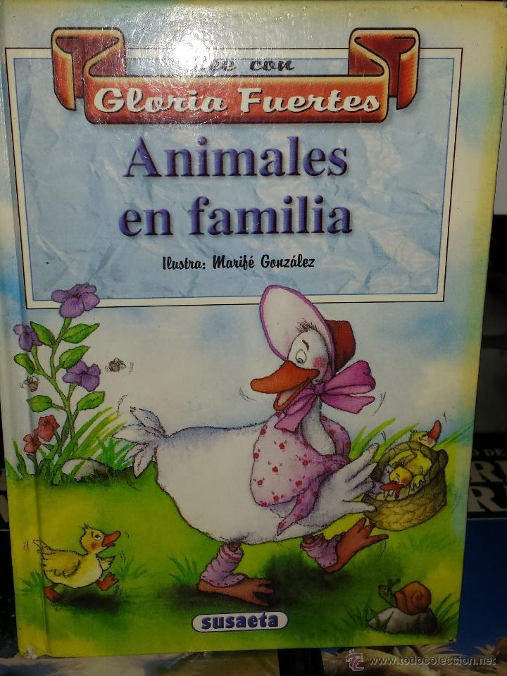 LEE CON GLORIA FUERTES - ANIMALES EN FAMILIA (Libros de Segunda Mano - Literatura Infantil y Juvenil - Cuentos)
