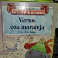 Libros de segunda mano: LEE CON GLORIA FUERTES - VERSOS CON MORALEJA. Lote 51513209