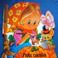 Libros de segunda mano: LA CENICIENTA DIBUJOS C. BUSQUETS COLECCIÓN PINTA CUENTOS TROQUELADOS 1983 SALDAÑA NUEVO. Lote 51565332
