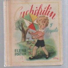 Libros de segunda mano: CUCHIFRITIN Y PAQUITO. ELENA FORTUN. EDICION AGUILAR. 1962. MADRID. ILUSTRADO. Lote 132227021