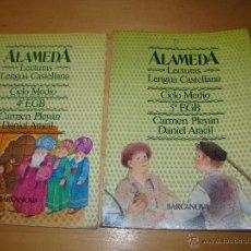 Libros de segunda mano: ALAMEDA 4º Y 5º EGB - LECTURAS - BARCANOVA. Lote 51800490