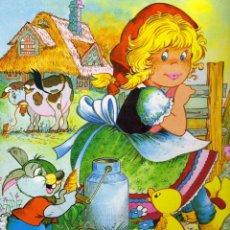 Libros de segunda mano: LA LECHERA.CUENTO INFANTIL ILUSTRADO 24 X 30 CM. 8 PÁGINAS. Lote 53977845